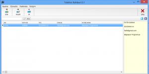 Telefon Rehberi Programı Ekran Görüntüsü