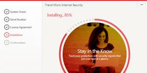 Trend Micro Internet Security Ekran Görüntüsü
