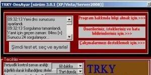 TRKY-DnsAyar Ekran G�r�nt�s�
