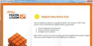 TTNET Pratik Çözüm Ekran Görüntüsü