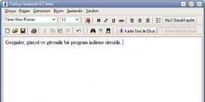 Türkçe Seslendir Ekran Görüntüsü