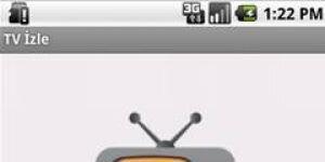 TV izle Android Uygulamas� Ekran G�r�nt�s�