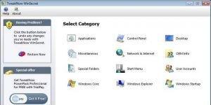 TweakNow WinSecret Professional Ekran Görüntüsü