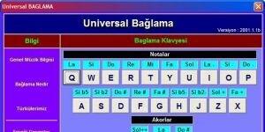 Universal BAGLAMA Ekran G�r�nt�s�