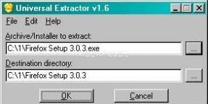 Universal Extractor Ekran Görüntüsü
