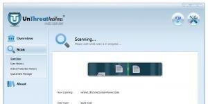 UnThreat Free Antivirus Ekran G�r�nt�s�