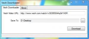 Veoh Downloader Ekran Görüntüsü