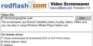 Video Screensaver Ekran G�r�nt�s�