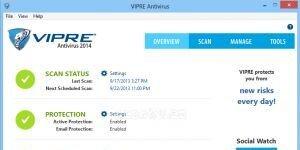 VIPRE Antivirus Ekran Görüntüsü