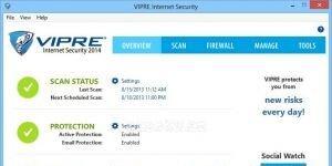 VIPRE Internet Security Ekran Görüntüsü