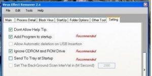 Virus Effect Remover Ekran Görüntüsü