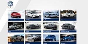 Volkswagen Türkiye Ekran Görüntüsü