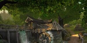 Watermill 3D Screensaver Ekran G�r�nt�s�