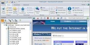 WebCopier Pro Ekran G�r�nt�s�
