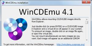 WinCDEmu Ekran Görüntüsü