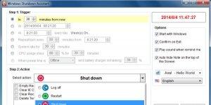 Apowersoft Windows Kapatma Asistanı Ekran Görüntüsü
