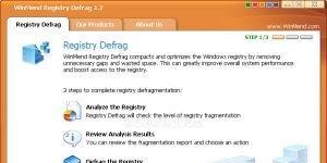 WinMend Registry Defrag Ekran Görüntüsü