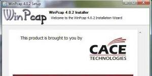 WinPcap Ekran Görüntüsü