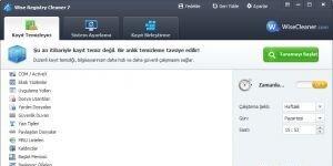 Wise Registry Cleaner Ekran Görüntüsü