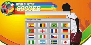 World Wide Soccer Ekran Görüntüsü