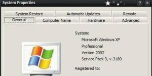 Windows XP Service Pack 3 Ekran G�r�nt�s�