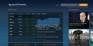 Yahoo! Finance Ekran Görüntüsü