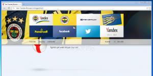 Yandex.Browser Fenerbah�e Ekran G�r�nt�s�