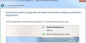 Yandex.Disk Ekran G�r�nt�s�