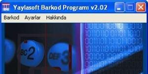 Yaylasoft Barkod Basma Programı Ekran Görüntüsü