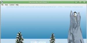 YetiSports 1 - Pingu Throw Ekran Görüntüsü