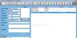 Y�lsoft Ajanda - Adres Telefon Rehberi Ekran G�r�nt�s�