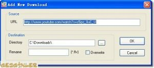 YouTube Video Downloader Ekran G�r�nt�s�