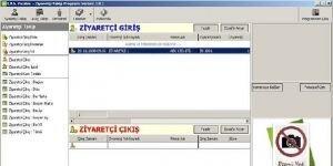 Ziyaretçi Takip Programı Ekran Görüntüsü